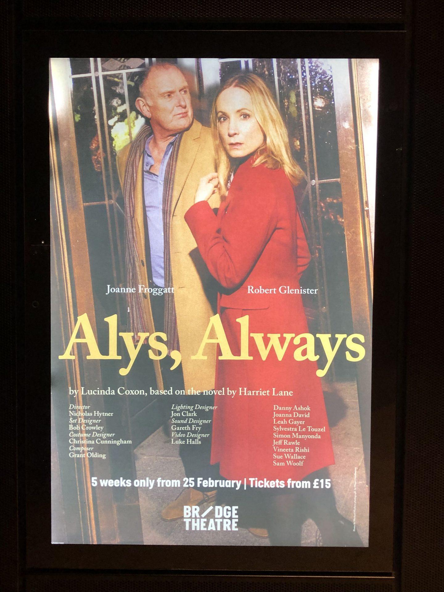 alys-always-bridge-theatre-london-review